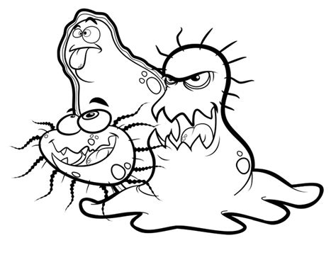 g is for germs coloring page no germs pinterest