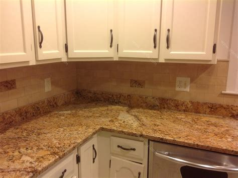 kitchen tile backsplash ideas with granite countertops mac s before after solarius granite countertop