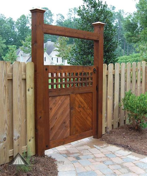Furniture: Engaging Curve Single Rustic Solid Oak Wooden Gate Including Solid Beam Oak Garden