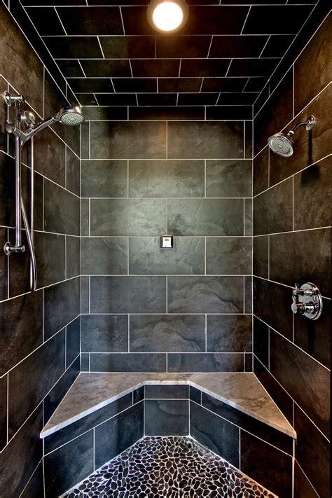 custom tile bathrooms photos hgtv