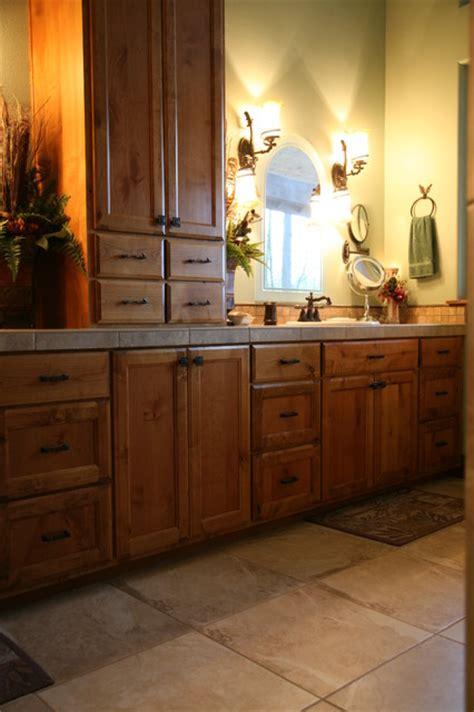 custom k alder vanity traditional bathroom portland