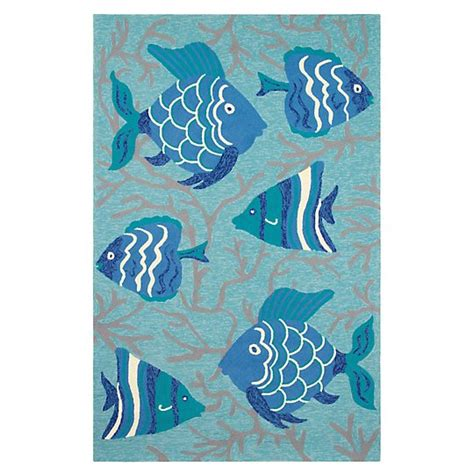 go fish rug outdoor easy care rugs c