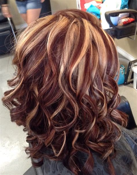 highlight color auburn color with highlights by at southern