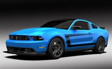 Ford Mustang 2012 Ford To Auction One Grabber Blue Mustang 302