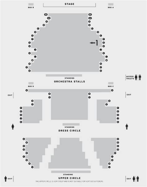 Playhouse Theatre   Seating Plan at Playhouse Theatre   ATG Tickets