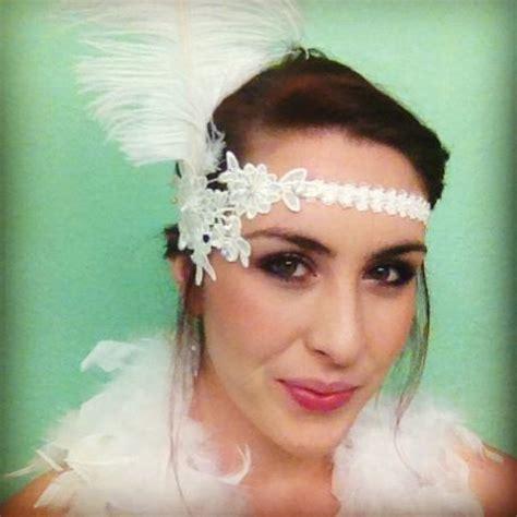 flapper headpiece diy diy flapper headband party time pinterest diy and