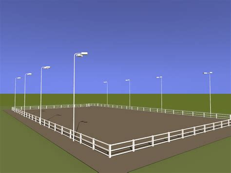 Equestrian Center Track Arena Lighting Outdoor