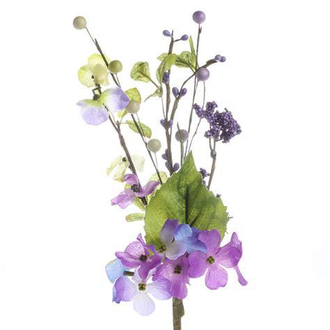 artificial stems and sprays artificial hydrangea and berry spray picks sprays and stems wedding flowers wedding
