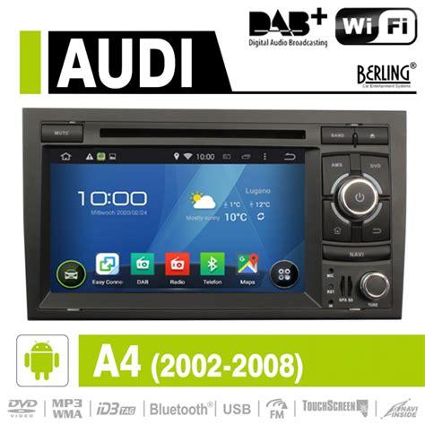 Autoradio F R Audi A4 by Android Autoradio Speziell F 252 R Audi A4 S4 Rs4 Dab Ready