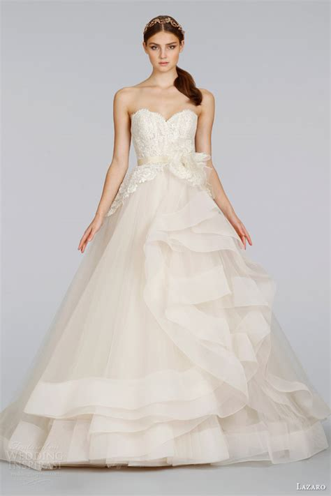 lazaro wedding dresses 2014 lazaro 2014 wedding dresses wedding inspirasi