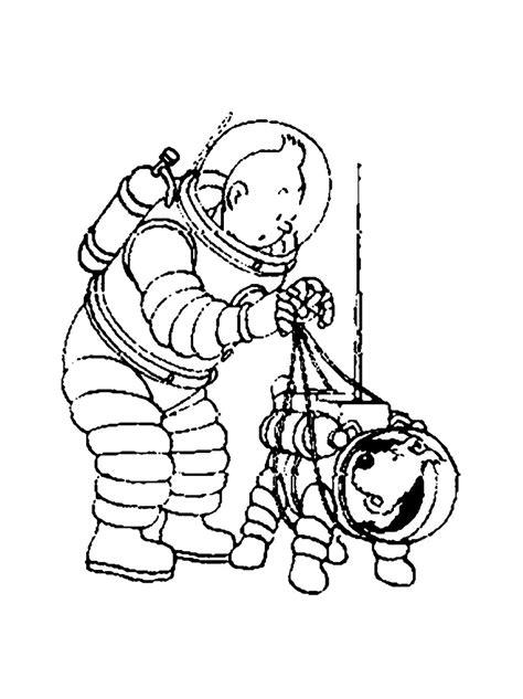 Coloriage Bateau La Licorne Tintin