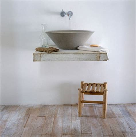 Bathroom Sink Shelves Floating Concrete Bathroom Sinks That Make A Strong Statement Without Any Fuss