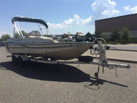used tracker deck boats for sale sun tracker party deck 21 deck boats used in prescott