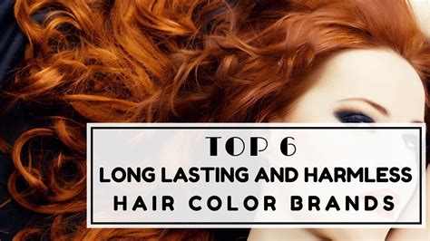 best long lasting hair dye top 6 long lasting and harmless hair color brands color