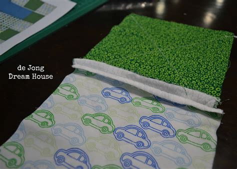 Quilting With Minky Tutorials by De Jong House Quilt 3 Minky Rag Quilt Tutorial