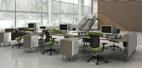 open concept office collaborative work environment image