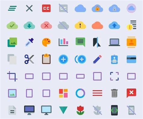 material design icon usage 100 android google material design freebies updated