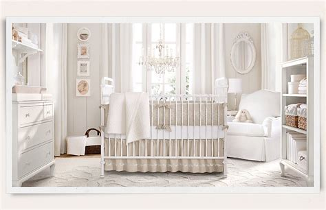 Used Restoration Hardware Crib by Gender Neutral Nurseries What Are You Doing Babycenter