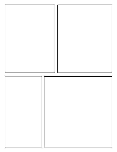 comic book template images