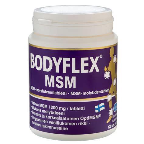 Msm Detox Side Effects by Bodyflex Msm Hankintatukku