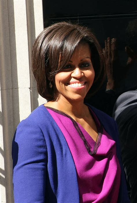 obama wife haircut michelle obama b o b michelle obama short hairstyles