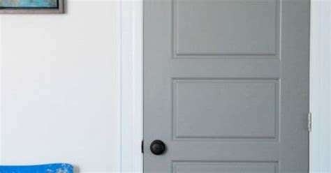 How To Paint Interior Doors Diy Gray Painted Interior Doors Hometalk