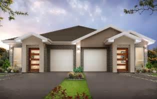 Dual Family House Plans New Home Builders Redleaf 34 7 Duplex Storey Home Designs