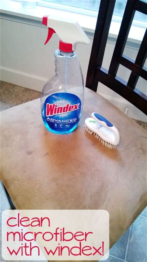 windex to clean microfiber couch clean microfiber with windex cleaning tips pinterest