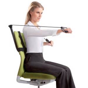 Desk Chair Workout Office Fitness Active Sitting Is The Start Of Working Out