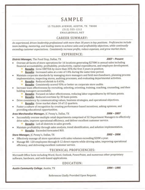 exles certified professional resume writing the