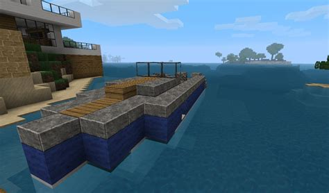 how to make a speed boat in minecraft pocket edition my speedboat minecraft project