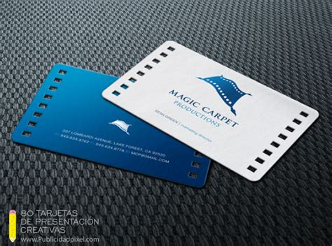 Visitenkarten Größe Pixel 80 dise 241 os de tarjetas de presentaci 243 n creativas