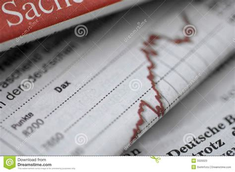 business section of newspaper business section of newspaper stock photos image 3320023