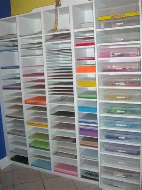 craft room paper storage paper bin scrapbook craft rooms