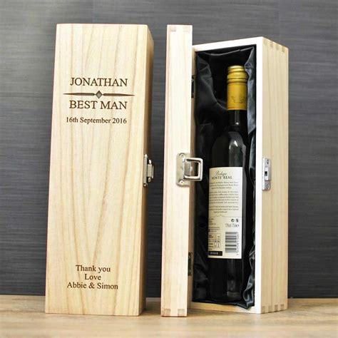 Wedding Wine Box Uk by Personalised Wedding Wine Box