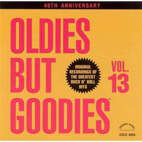 Oldie But Goodie Are Outlet Malls The Inn Of The Millennum by Various Artists Oldies But Goodies Vol 13 Cd Target