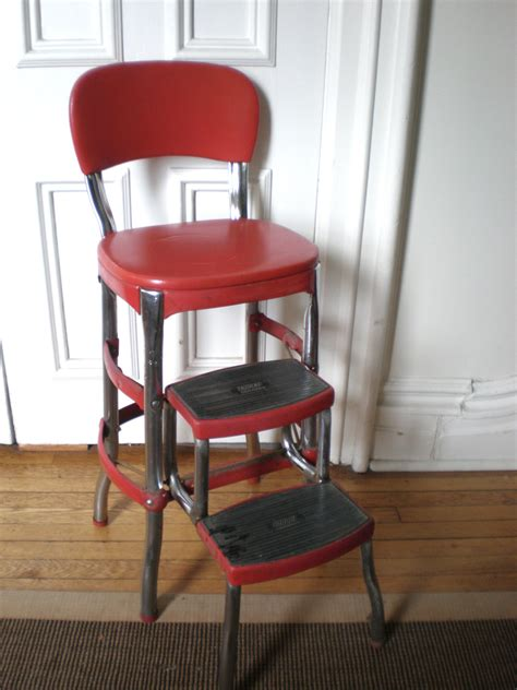 cosco kitchen chair with step stool