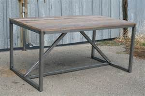 Modern Steel Desk by Industrial Desk With Drawers
