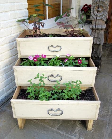 The Time Drawers by Use Dresser Drawers For Your Garden Dump A Day