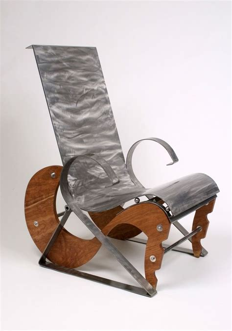 unique chair made modern unique one of a metal chairs by