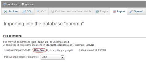 membuat database gammu membuat sms gateway menggunakan gammu 1 33 part 1