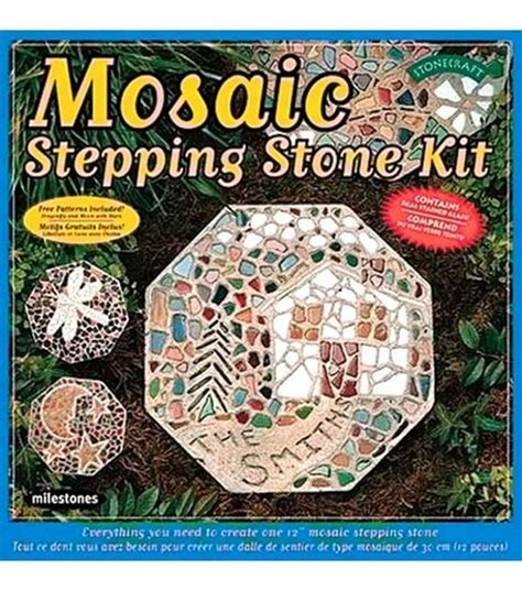mosaic stepping stones stepping stones and mosaics on