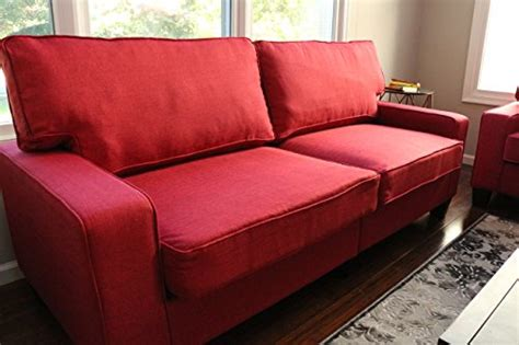 home life 3 person contemporary upholstered linen sofa home life upholstered linen 3 person full size