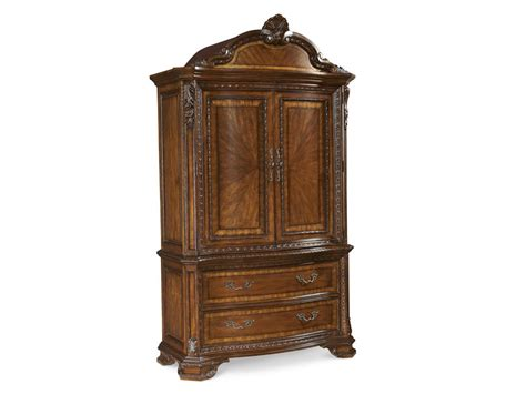 hickory armoire art furniture bedroom armoire set 143160 2606 hickory