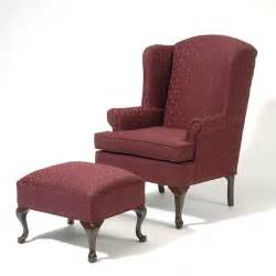 Wingback Chair Ottoman Wing Back Chair And Ottoman Wayfair
