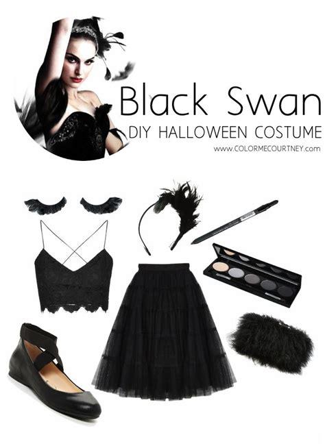 easy diy halloween costumes black swan ballet