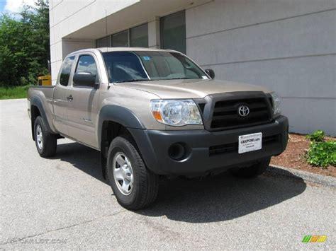 Toyota Tacoma 2005 4x4 2005 Desert Sand Mica Toyota Tacoma V6 Access Cab 4x4