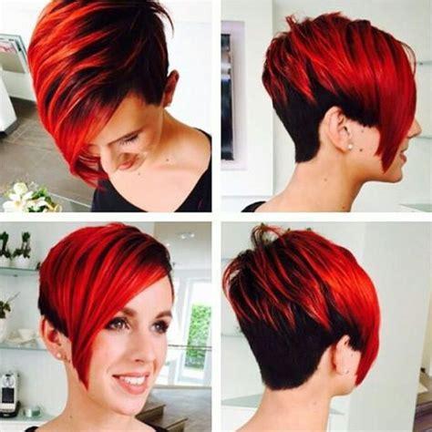 Frisuren Mit Farbe by Die 17 Besten Ideen Zu Undercut Frau Auf