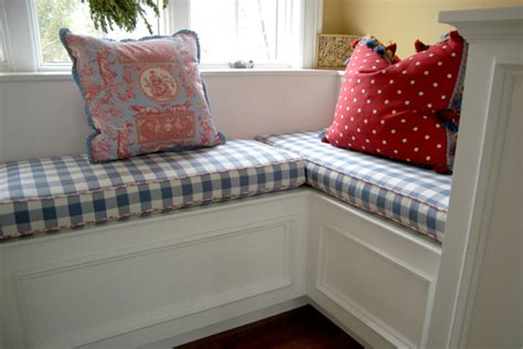 pillows for bench seating custom couture for the home pillows