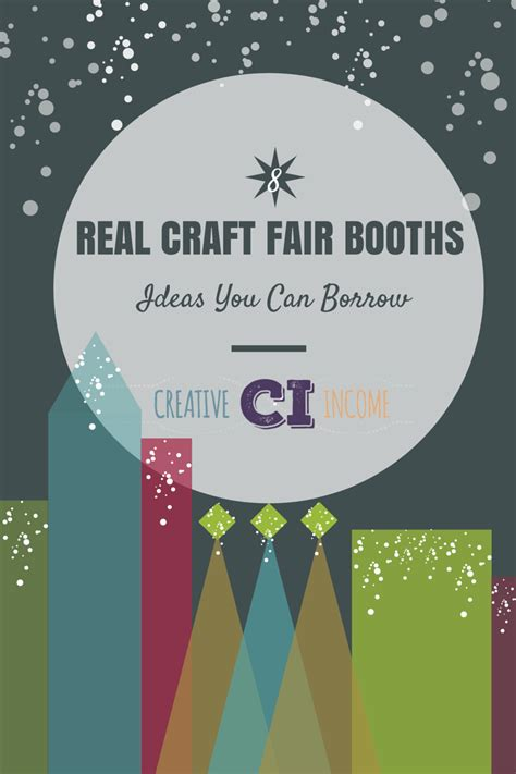 the craft fair vendor guidebook ideas to inspire books 8 real craft fair booth ideas you can borrow creative income